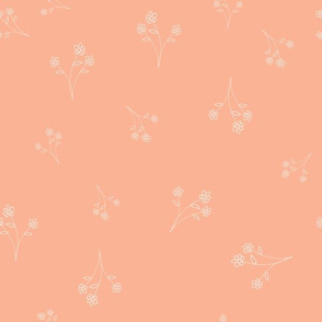 simple collection posie peach