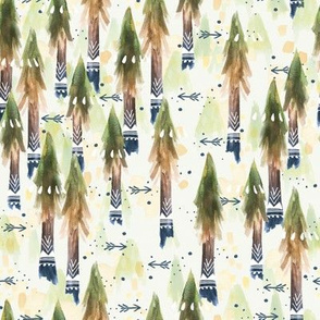 Ombre Forest / Arrows / Wander