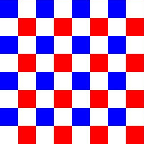 French Squares - Check Pattern
