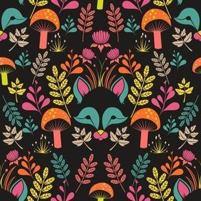 Woodland Fox-Black