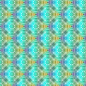 Rainbow Mandala Fractal - Alternate Tile