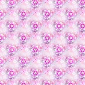 Tiny Pink Fractal Flowers