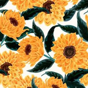 sunflowers-golden