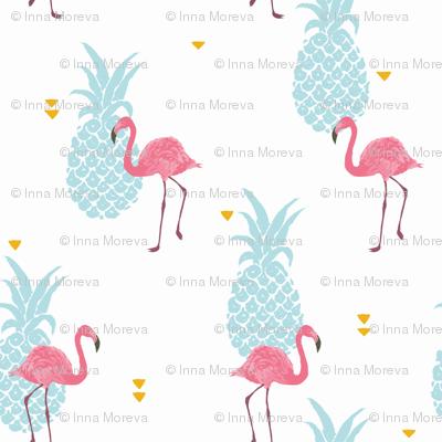 Pink Flamingo - brighter colors