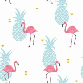 Pink Flamingo - brighter colors