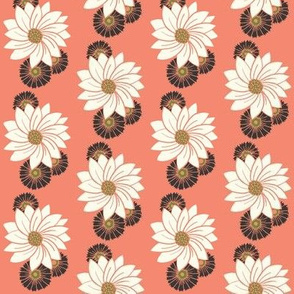Spiral floral_pink