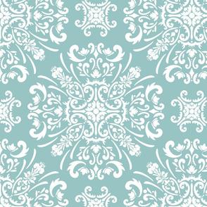 Elegant damask pattern