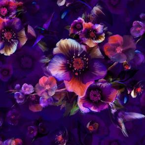 Moody flower purple 300 6300x5400