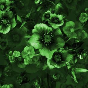 Moody flower green (kopia)