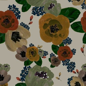 Muted Vintage Floral