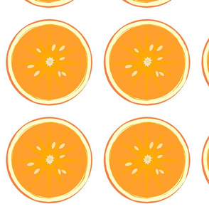 applique orange