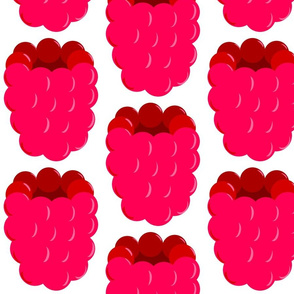 applique raspberry