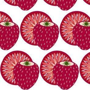 applique strawberry