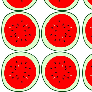 applique watermelon