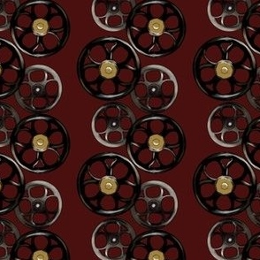 Wheels - Burgendy