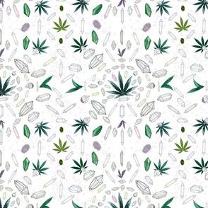 Crystal & Cannabis Meditation