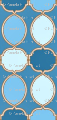 tiles 27 small blue