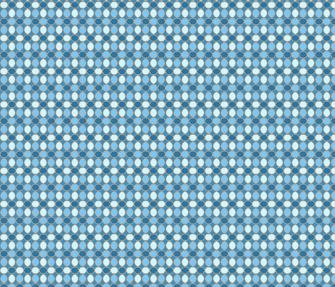 tiles 27 small blue fabric by glimmericks on Spoonflower - custom fabric