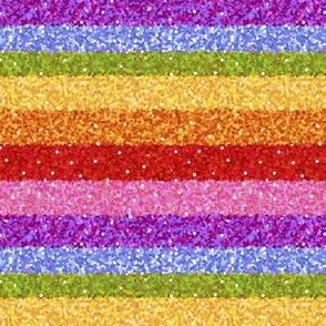 """Rainbow Glitter bomb small  1/2"""""""