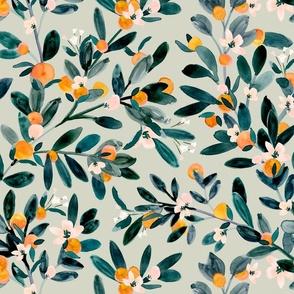 clementine sprigs-silver sage