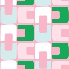 Spring 19 geo pink