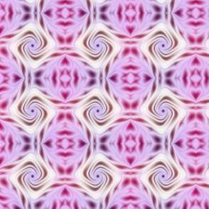 Pink and White Rose Fractal