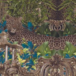 Asian Jungle Cats Blue