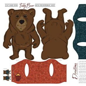 Bear Cut and Sew