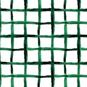 Noel Collection - Watercolor Lattice - Green
