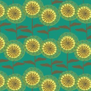 Dandelions at Nollers Lake Green-01