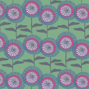 Dandelions at Nollers Lake Grass-01