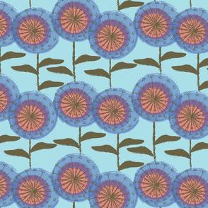 Dandelions at Nollers Lake Aqua-01