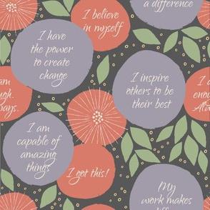 Power Woman | Charcoal