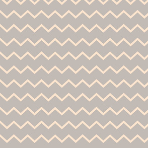 neutral zigzag-peach grey