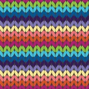 Knitty Stitches Rainbow - Asphalt