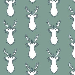 Bohemian Deer Sage Green