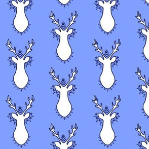 Bohemian Deer Blue