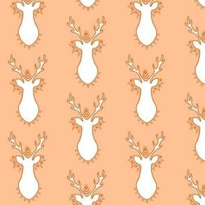 Bohemian Deer Orange