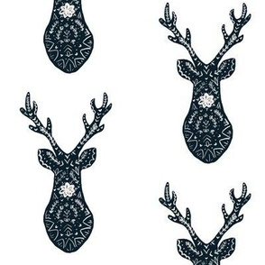 Scandinavian Deer White