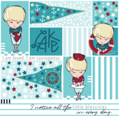 Nautical Boys and Boats Affirmations