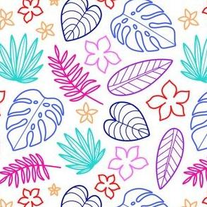 Tropical Neon White