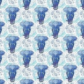 small size - mandala indian elephant