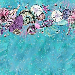 Seashells Ocean Blue