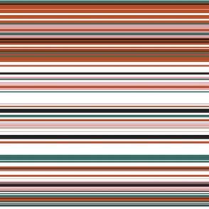 Colorful stripes |  02 – blush green
