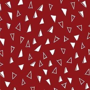 Tumbling Triangles white on red bg 3000x3000 1 tile-01