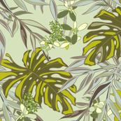 Tropical Garden - Mint