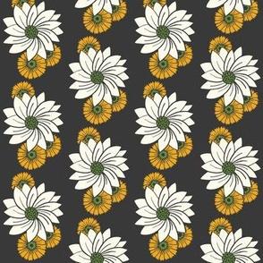 Spiral floral_brown