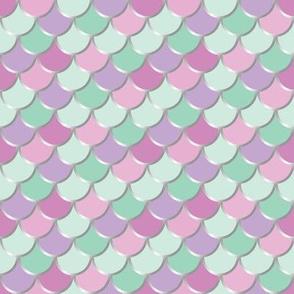Lilac Mint Mermaid Tail