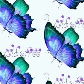 Wild and Free Butterfly