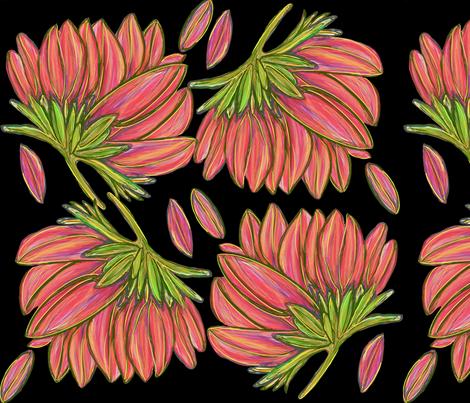 Floating Tiger Orange Lotus Flowers Wallpaper Debramayhimes